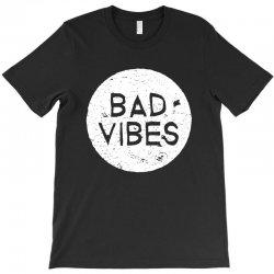 bad vibes white style T-Shirt | Artistshot