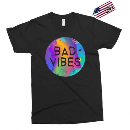 Bad Vibes Exclusive T-shirt Designed By Meganphoebe