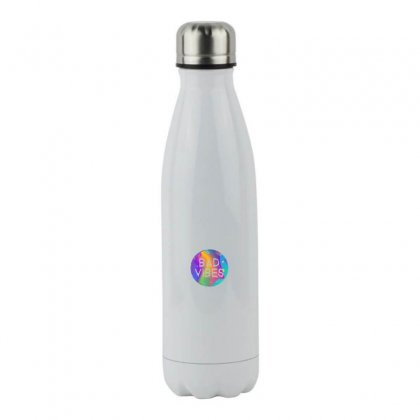 Bad Vibes Stainless Steel Water Bottle Designed By Meganphoebe