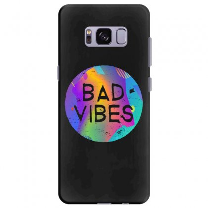 Bad Vibes Samsung Galaxy S8 Plus Case Designed By Meganphoebe