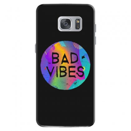 Bad Vibes Samsung Galaxy S7 Case Designed By Meganphoebe