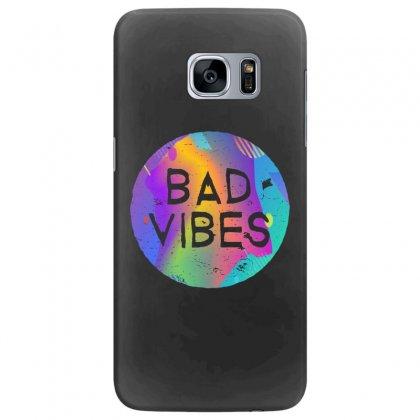 Bad Vibes Samsung Galaxy S7 Edge Case Designed By Meganphoebe
