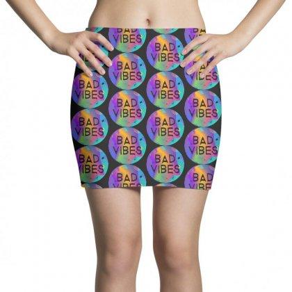 Bad Vibes Mini Skirts Designed By Meganphoebe