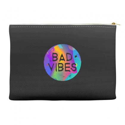 Bad Vibes Accessory Pouches Designed By Meganphoebe