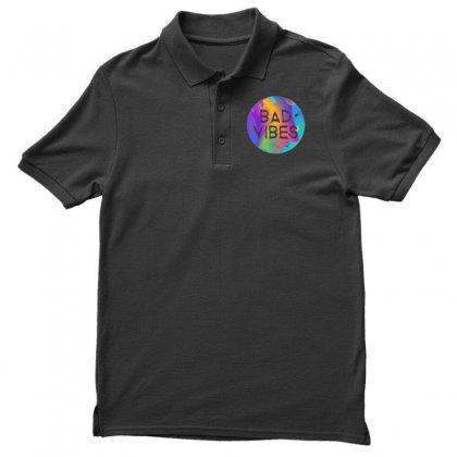 Bad Vibes Men's Polo Shirt Designed By Meganphoebe