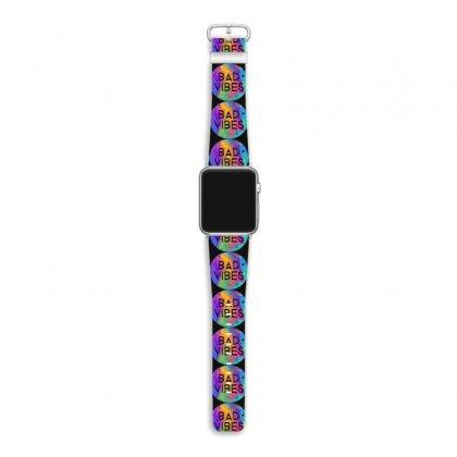Bad Vibes Apple Watch Band Designed By Meganphoebe