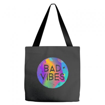 Bad Vibes Tote Bags Designed By Meganphoebe