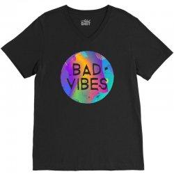bad vibes V-Neck Tee | Artistshot