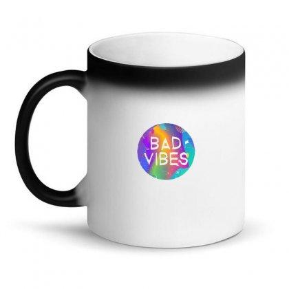 Bad Vibes Magic Mug Designed By Meganphoebe