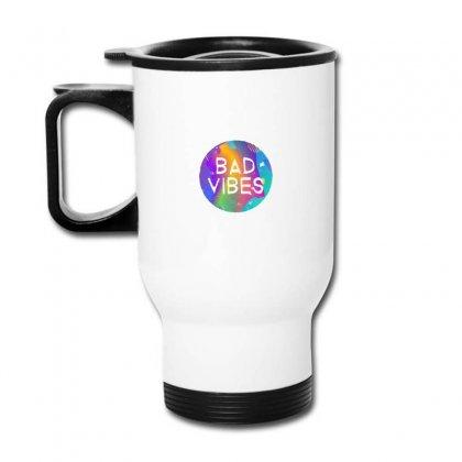 Bad Vibes Travel Mug Designed By Meganphoebe