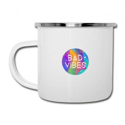 Bad Vibes Camper Cup Designed By Meganphoebe