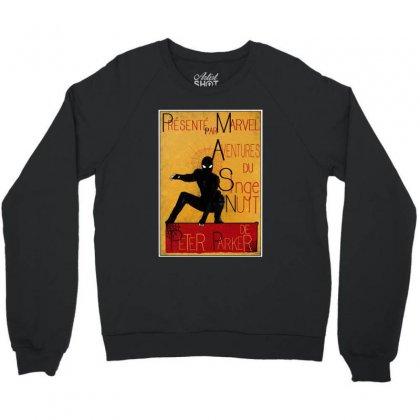 Adventures Of The Night Spider Crewneck Sweatshirt Designed By Meganphoebe