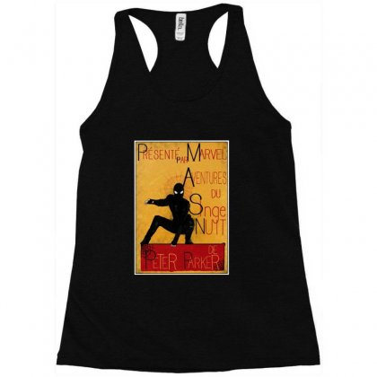 Adventures Of The Night Spider Racerback Tank Designed By Meganphoebe