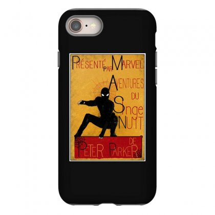 Adventures Of The Night Spider Iphone 8 Case Designed By Meganphoebe