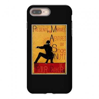 Adventures Of The Night Spider Iphone 8 Plus Case Designed By Meganphoebe