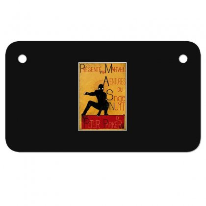 Adventures Of The Night Spider Motorcycle License Plate Designed By Meganphoebe