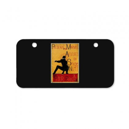 Adventures Of The Night Spider Bicycle License Plate Designed By Meganphoebe