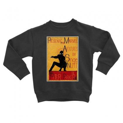 Adventures Of The Night Spider Toddler Sweatshirt Designed By Meganphoebe
