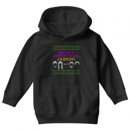 Awesome Merry Christmas Jabroni Ugly Youth Hoodie Designed By Meganphoebe