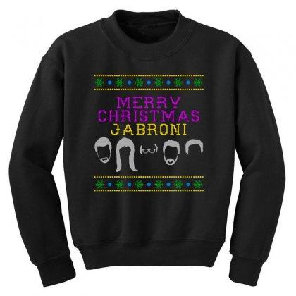 Awesome Merry Christmas Jabroni Ugly Youth Sweatshirt Designed By Meganphoebe