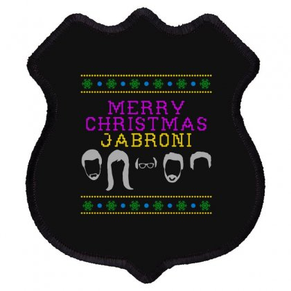 Awesome Merry Christmas Jabroni Ugly Shield Patch Designed By Meganphoebe