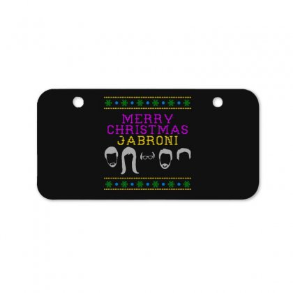 Awesome Merry Christmas Jabroni Ugly Bicycle License Plate Designed By Meganphoebe