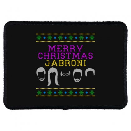 Awesome Merry Christmas Jabroni Ugly Rectangle Patch Designed By Meganphoebe