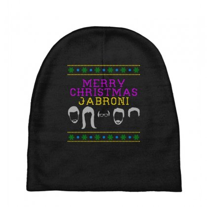 Awesome Merry Christmas Jabroni Ugly Baby Beanies Designed By Meganphoebe