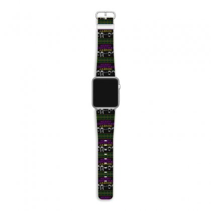 Awesome Merry Christmas Jabroni Ugly Apple Watch Band Designed By Meganphoebe