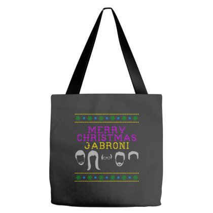 Awesome Merry Christmas Jabroni Ugly Tote Bags Designed By Meganphoebe