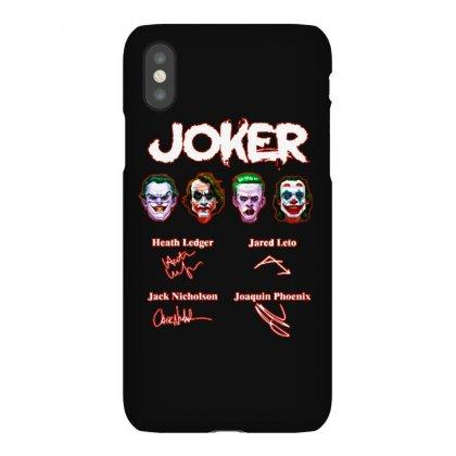 Funny Jokers Signatures Iphonex Case Designed By Meganphoebe