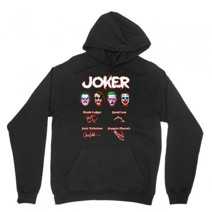 Funny Jokers Signatures Unisex Hoodie Designed By Meganphoebe