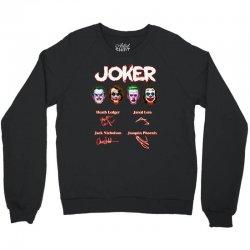 funny jokers signatures Crewneck Sweatshirt | Artistshot