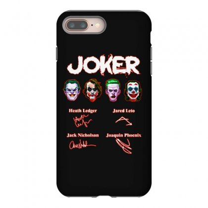 Funny Jokers Signatures Iphone 8 Plus Case Designed By Meganphoebe