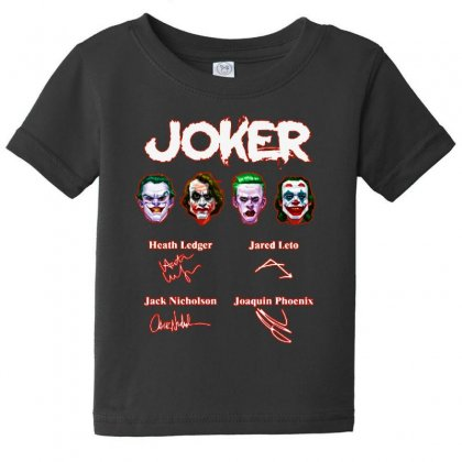 Funny Jokers Signatures Baby Tee Designed By Meganphoebe