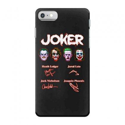 Funny Jokers Signatures Iphone 7 Case Designed By Meganphoebe