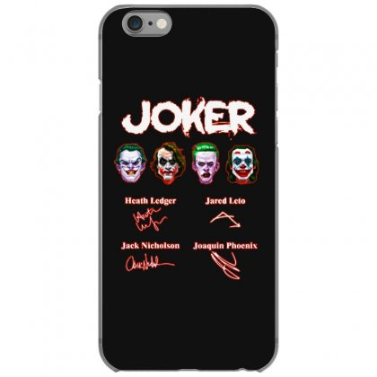 Funny Jokers Signatures Iphone 6/6s Case Designed By Meganphoebe