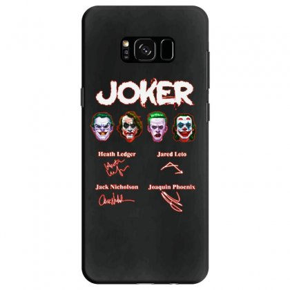 Funny Jokers Signatures Samsung Galaxy S8 Case Designed By Meganphoebe
