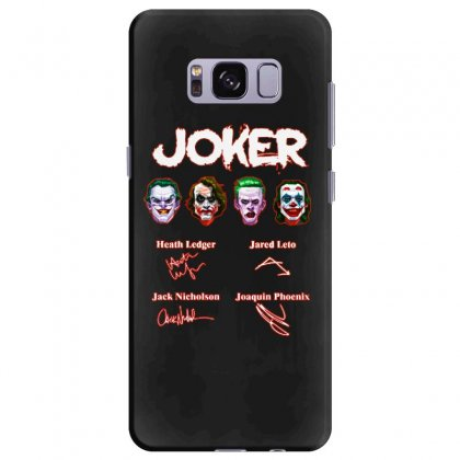 Funny Jokers Signatures Samsung Galaxy S8 Plus Case Designed By Meganphoebe