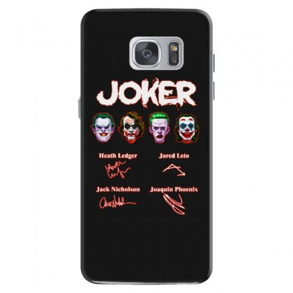 Funny Jokers Signatures Samsung Galaxy S7 Case Designed By Meganphoebe