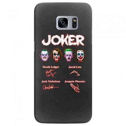 Funny Jokers Signatures Samsung Galaxy S7 Edge Case Designed By Meganphoebe