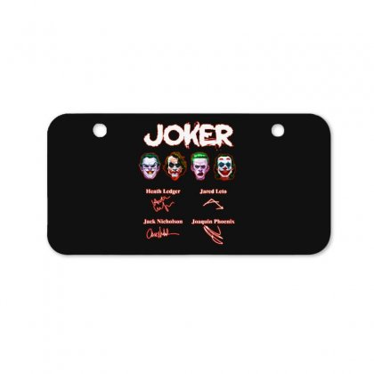 Funny Jokers Signatures Bicycle License Plate Designed By Meganphoebe