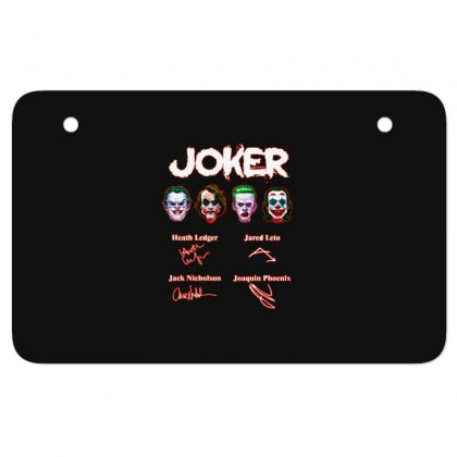 Funny Jokers Signatures Atv License Plate Designed By Meganphoebe