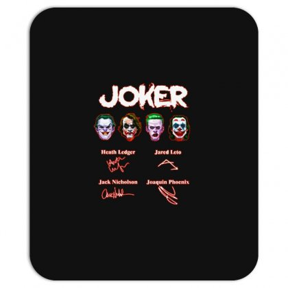 Funny Jokers Signatures Mousepad Designed By Meganphoebe