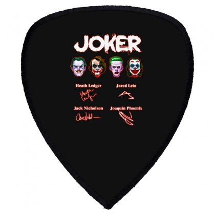 Funny Jokers Signatures Shield S Patch Designed By Meganphoebe