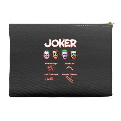 Funny Jokers Signatures Accessory Pouches Designed By Meganphoebe