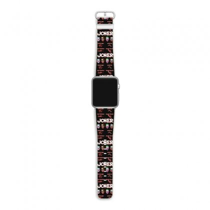 Funny Jokers Signatures Apple Watch Band Designed By Meganphoebe