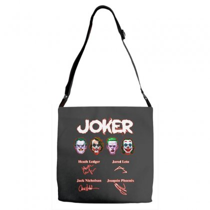 Funny Jokers Signatures Adjustable Strap Totes Designed By Meganphoebe