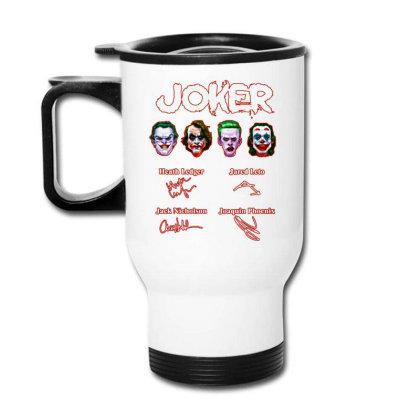Funny Jokers Signatures Travel Mug Designed By Meganphoebe