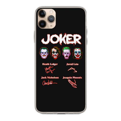 Funny Jokers Signatures Iphone 11 Pro Max Case Designed By Meganphoebe